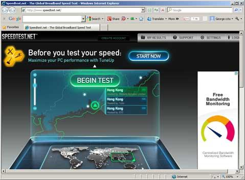 SpeedTest.net - 網速測試 - 速度測試
